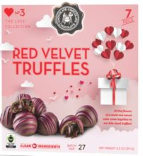 Red Velvet Cake Truffles 7pc