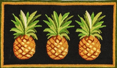 Pineapple Hook Rug