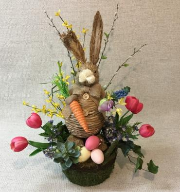 Keepsake SILK Easter Arrangement