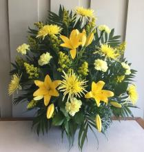 Yellow Floral Tribute