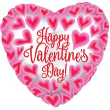 Happy Valentine\'s Day Mylar