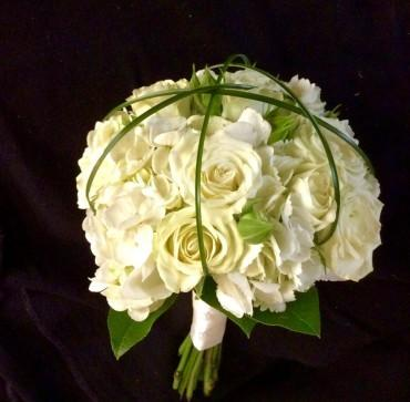 White Mixed Clutch Bouquet