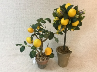 Artificial Lemon Topiary