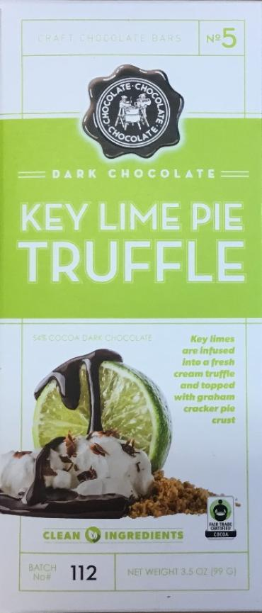 Key Lime Pie Truffle Bar