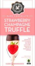 Strawberry Champagne Truffle Bar