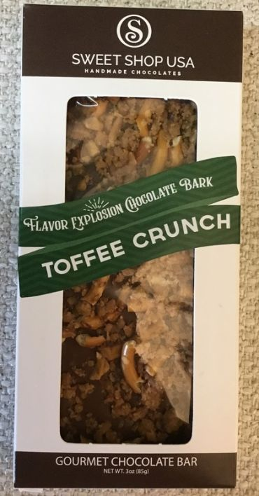 Flavor Explosion Chocolate Toffee Crunch Bark