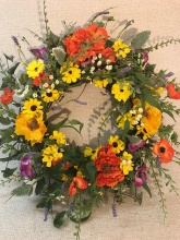 Mixed Spring Wreath