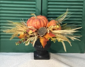 Silk Fall Arrangement