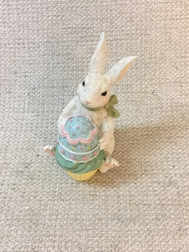 Bunny with Easter Egg Cupcake
