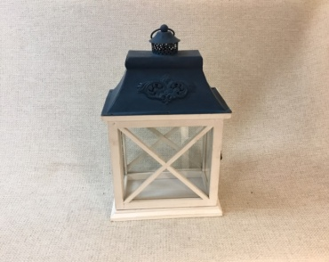 White and Blue Lantern