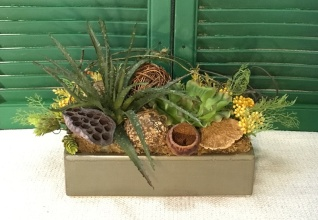 Faux Succulent Arrangement