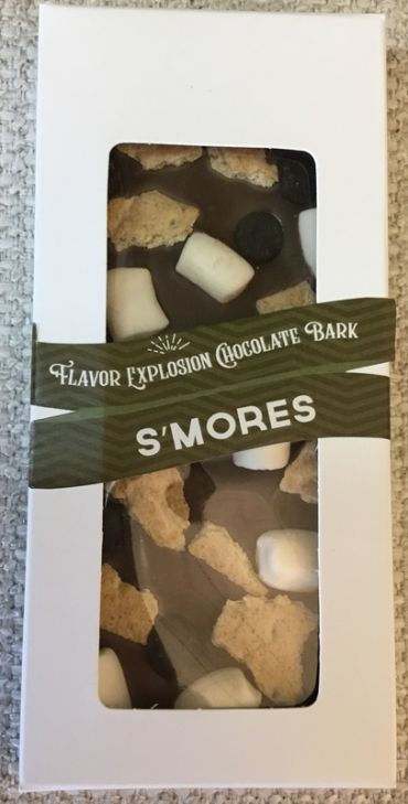 Flavor Explosion Chocolate S\'mores Bark