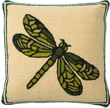 Dragonfly Hooked Pillow