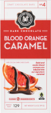 Blood Orange Chocolate Caramel Bar