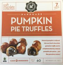 Pumpkin Pie Truffles 7 pc