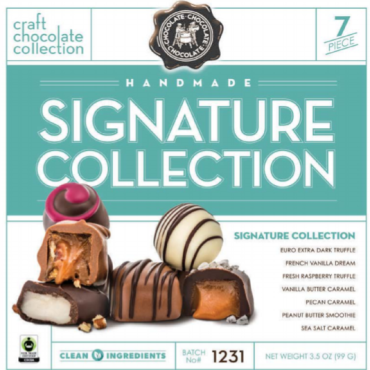 Signature  Collection 7pc Chocolates