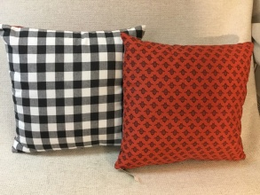 Reversible Throw Pillow