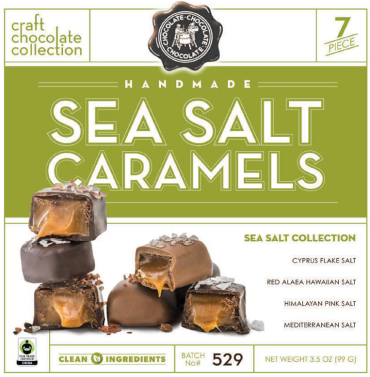 Sea Salt Caramel 7pc