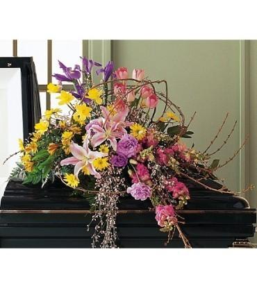 Eternal Spring Casket Spray